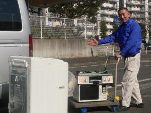 さいたま市の部屋から家電とゴミの回収処分