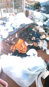ゴミ部屋片付け