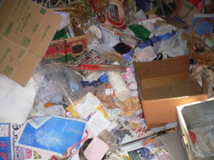 和光市のゴミ屋敷部屋