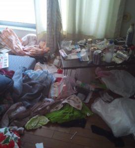 和光市のゴミ部屋