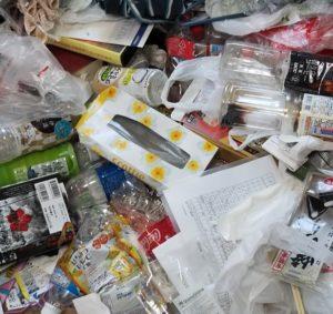 所沢市のゴミが散乱した部屋