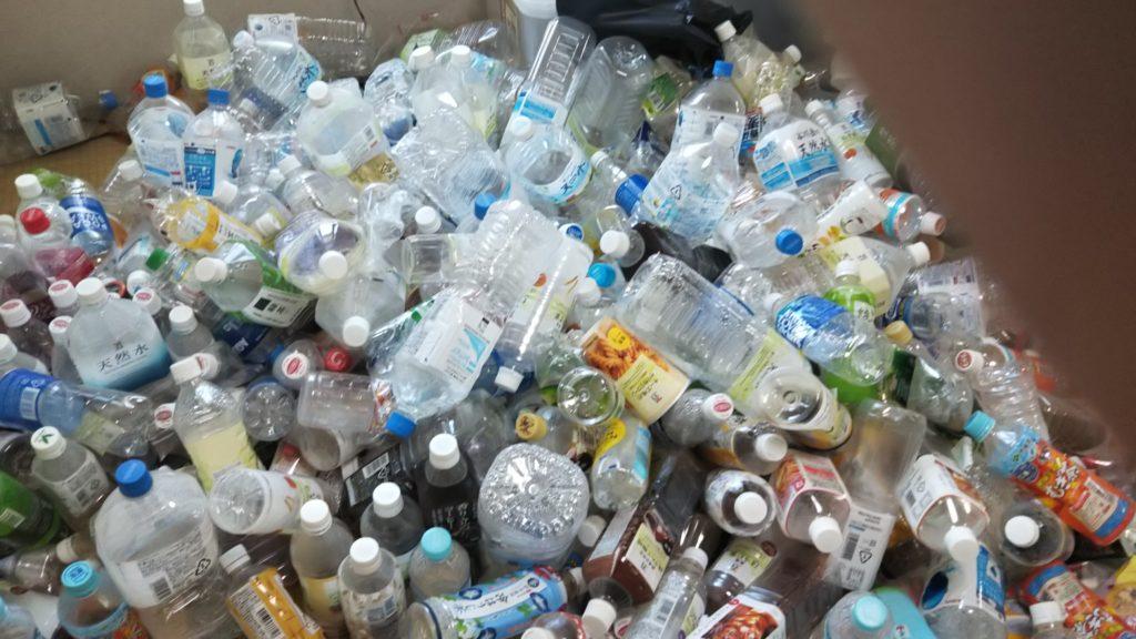 和光市 ゴミ屋敷部屋ペットボトル片付け