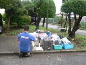 富士見市 部屋片付け後の家電