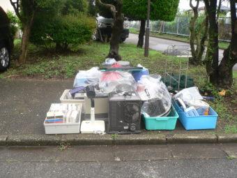 不用品と廃品回収