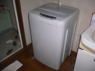 所沢市で洗濯機回収
