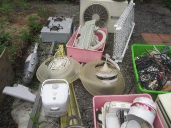 家電を中心とした不用品